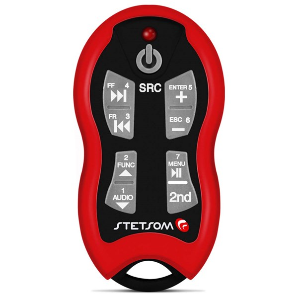 Controle Longa Distância Stetsom SX-2 500 Metros Vermelho Alcance Control