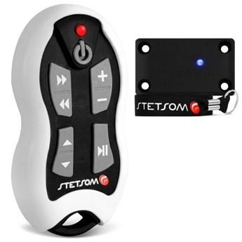 Controle Longa Distância Stetsom SX-2 500 Metros Branco Alcance Control