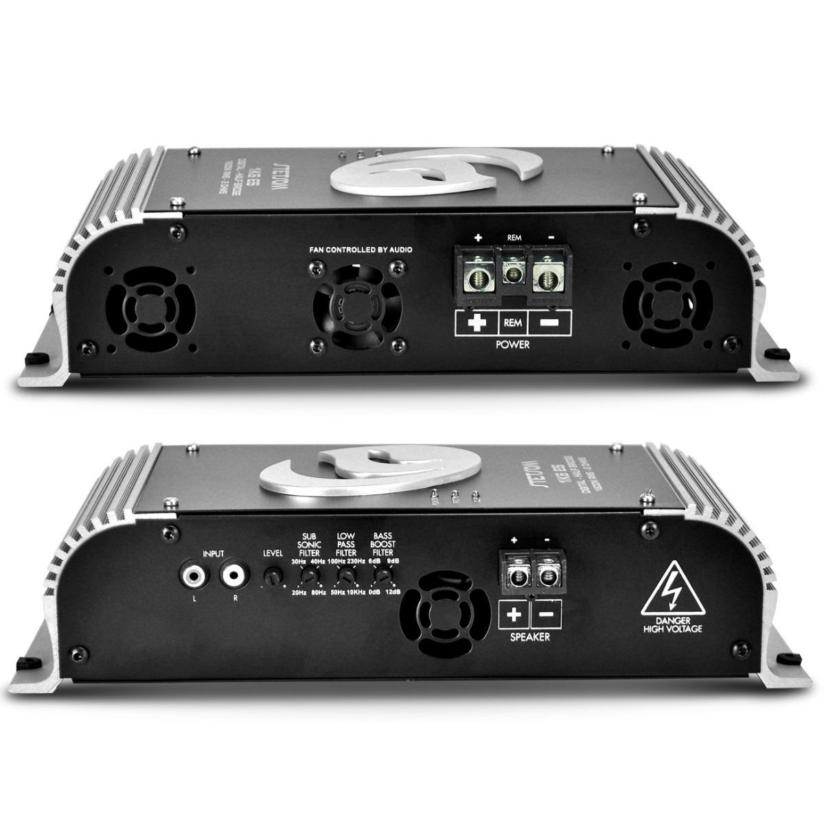 Modulo Amplificador Stetsom 1k6 + Controle Sx1 1 ohms
