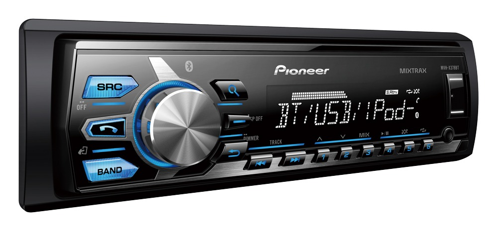 Media Player Automotivo Pionner Mvh-x378bt Bluetooth Usb