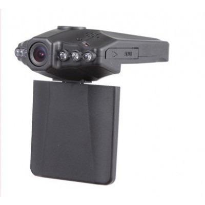 Câmera Segurança Veicular Com Gravador Dvr Monitor 2,5 Lcd