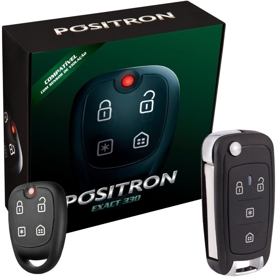 Alarme Automotivo Positron Ex 360 Chave Canivete Px 80