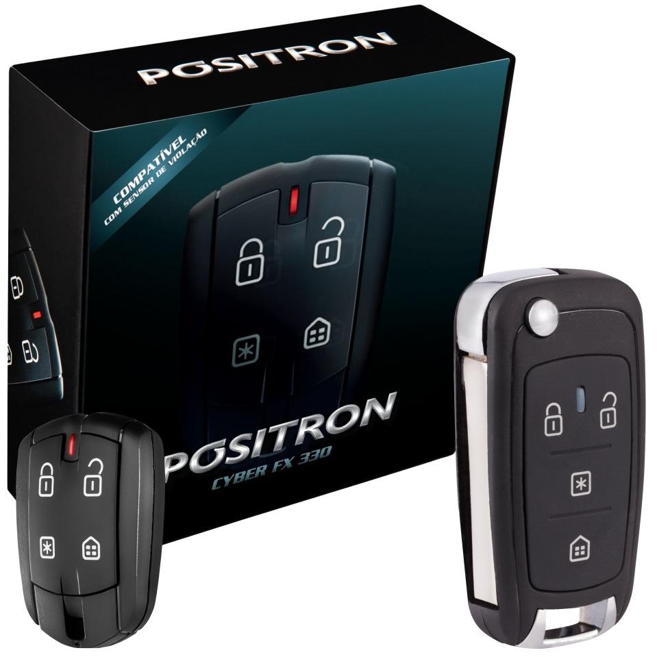 Alarme Automotivo Positron Fx360 Chave Canivete Positron px 80