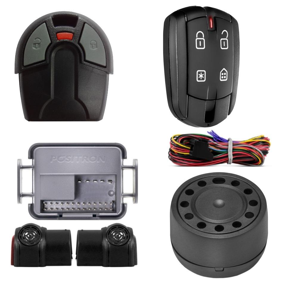 Alarme Positron FX 360 Fx + Controle Fiat