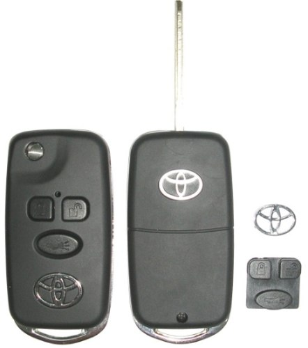 Chave Canivete Completa Toyota Corolla Fielder Seg Xei 03 08 Com Code