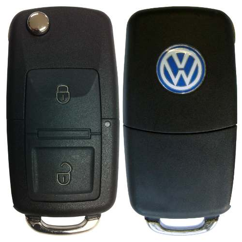Chave Canivete Original Volkswagen Golf C/ Telecomando Vw