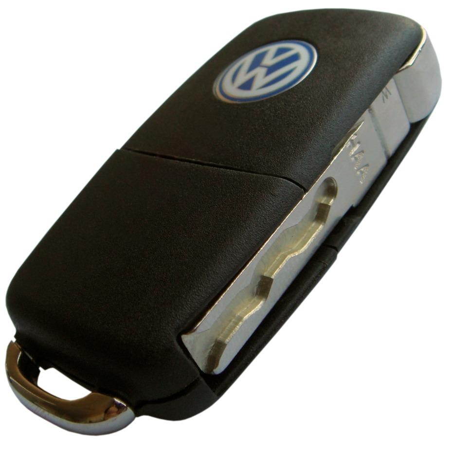 Chave Canivete Original Vw Volkswagen Gol Gv G5
