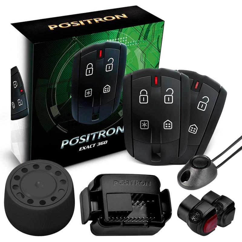 Alarme Automotivo Carro Positron Exact EX 360 Desliga Som