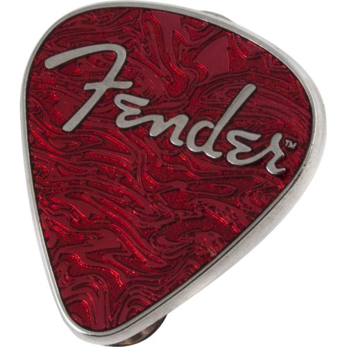 Broche Palheta Vermelha Fender