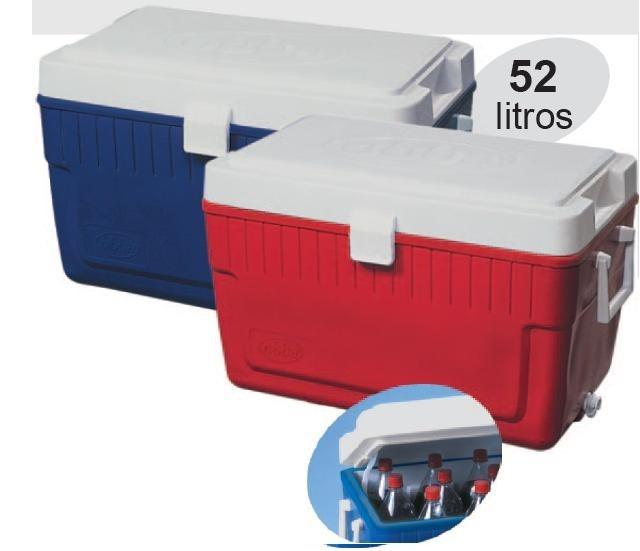 Caixa Termica Mariner 52 Litros 650x415x521mm Vermelha