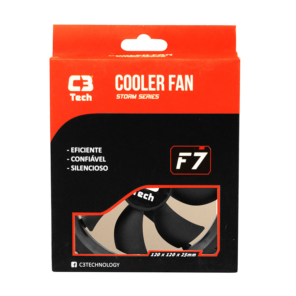 Cooler STORM C3TECH F7-100BK