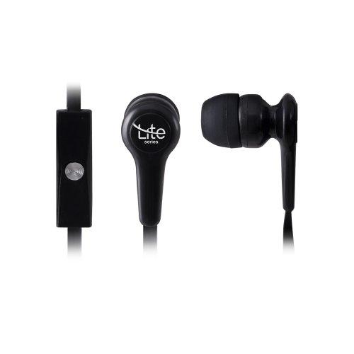 Fone de Ouvido com Microfone EM-201BK Preto Lite