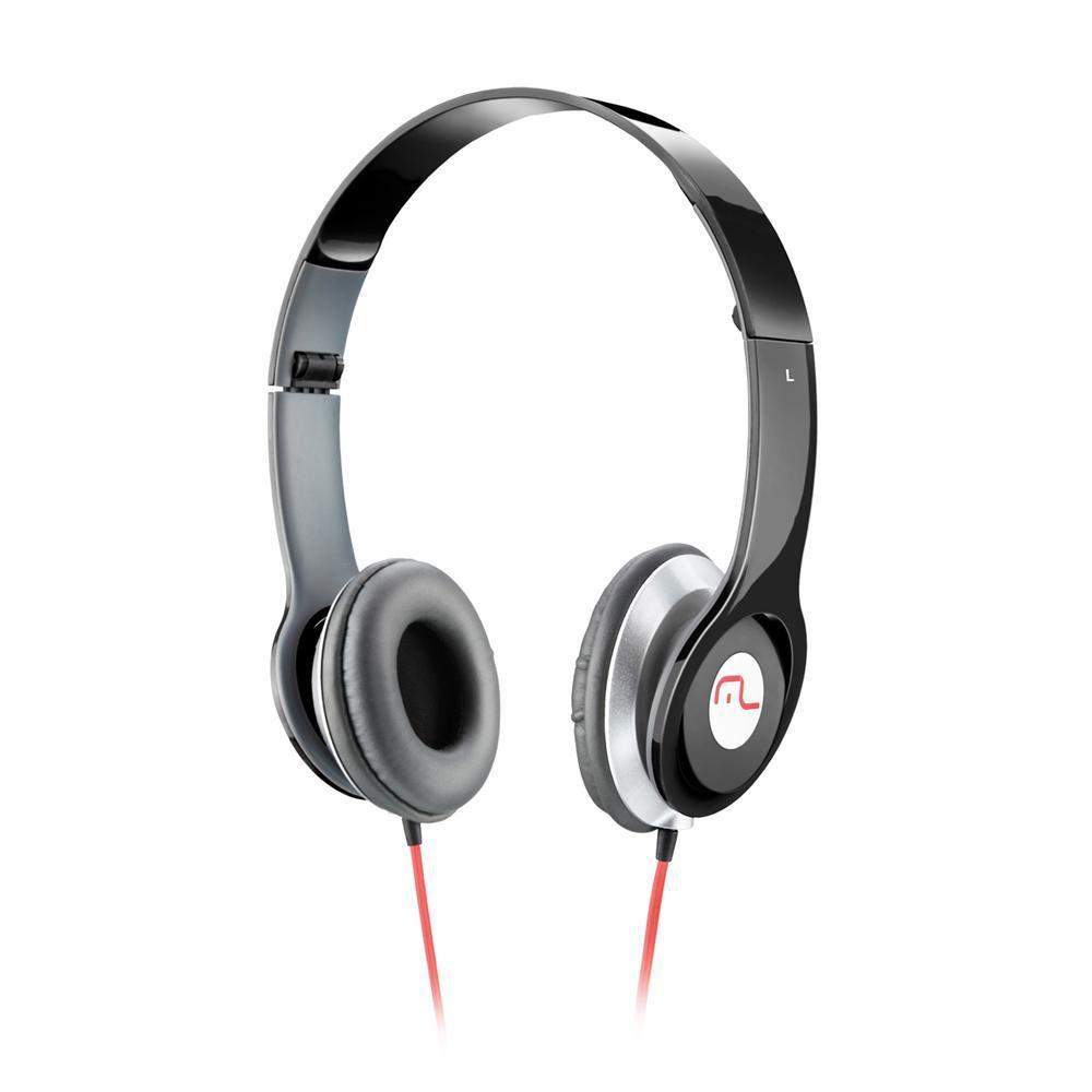 Fone de Ouvido Multilaser Headfone Preto P2 - PH066