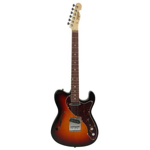 Guitarra Tele Semiacustica T-484 Brasil Sunburst Tagima