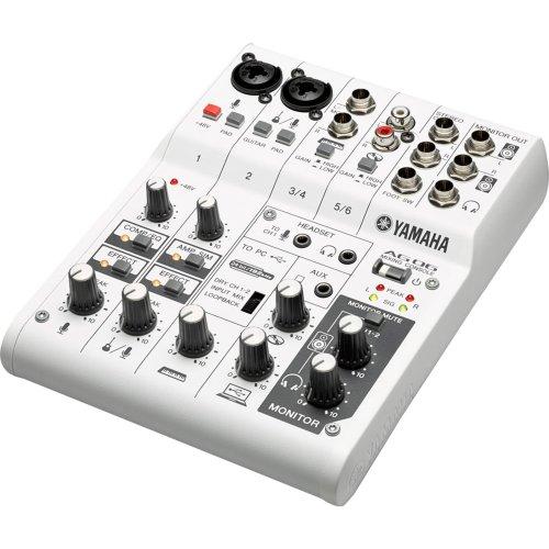Mesa de SOM AG06 Branca Yamaha