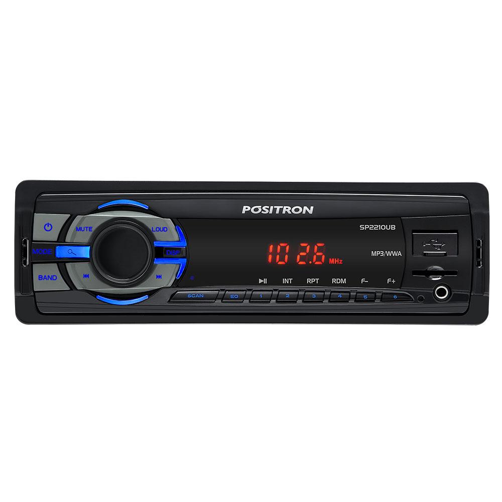 Positron A.R. MP3 Player SP2210UB USB/SD CARD/MP3/WMA/AUX