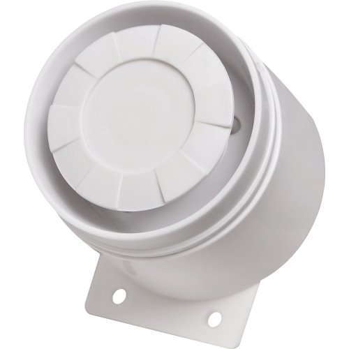 Sirene Monotonal 12V 0,3A Piezo 110DB Branco ECP
