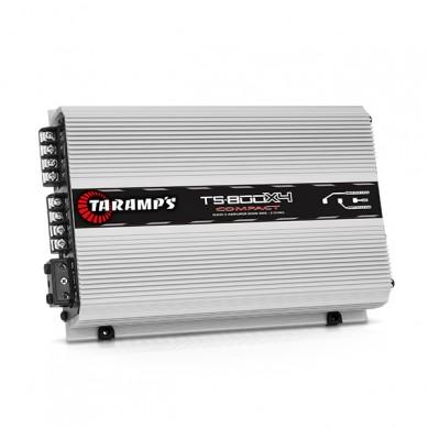 Taramps Mod.pot. TS-800X4 Compact 2R 800W RMS 4 Canais