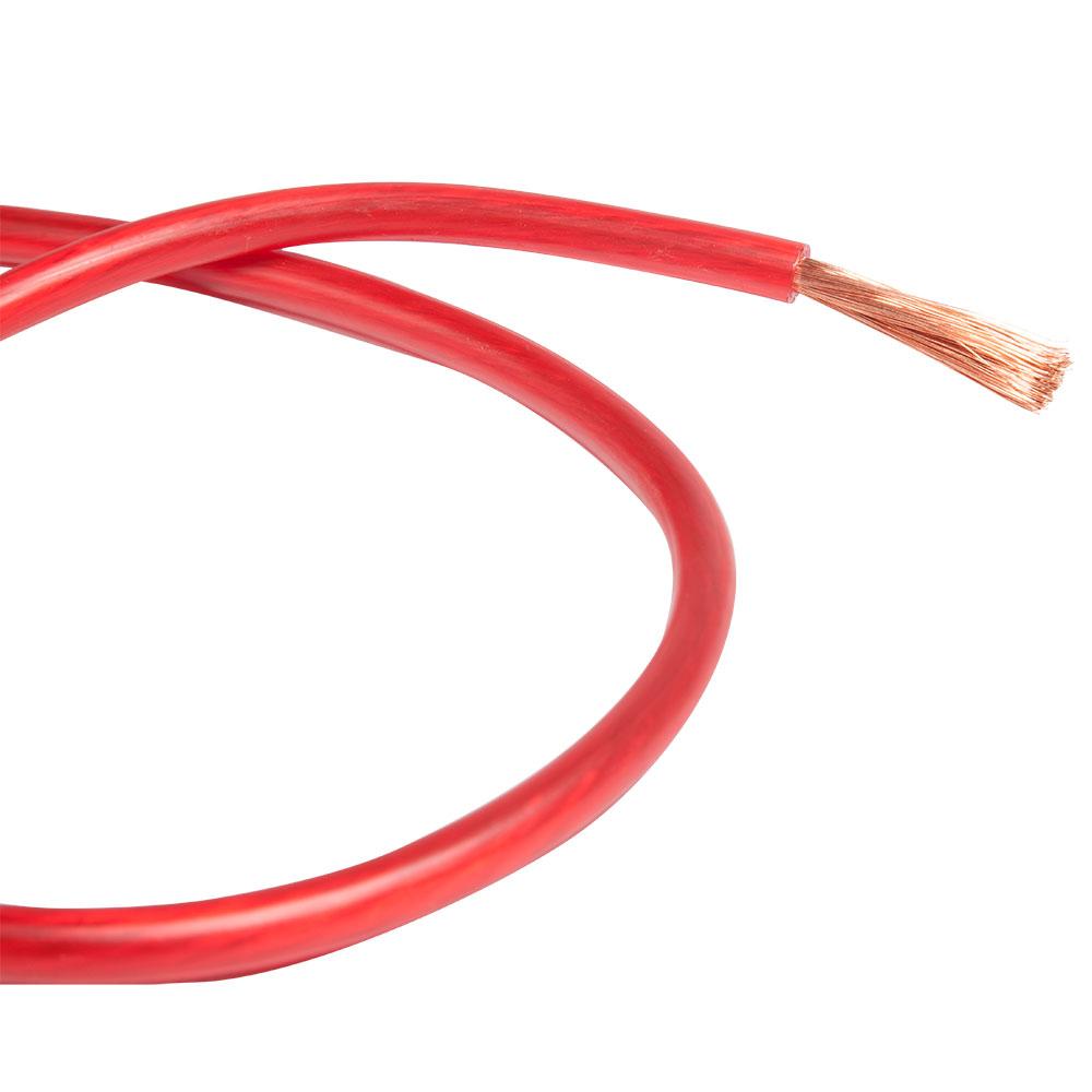 Technoise Cabo de Potencia (puro Cobre) Vermelho 50MM RL 25M