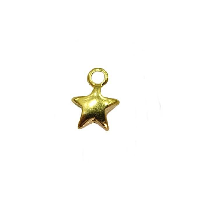 Pingente Estrela dourada- PTD053
