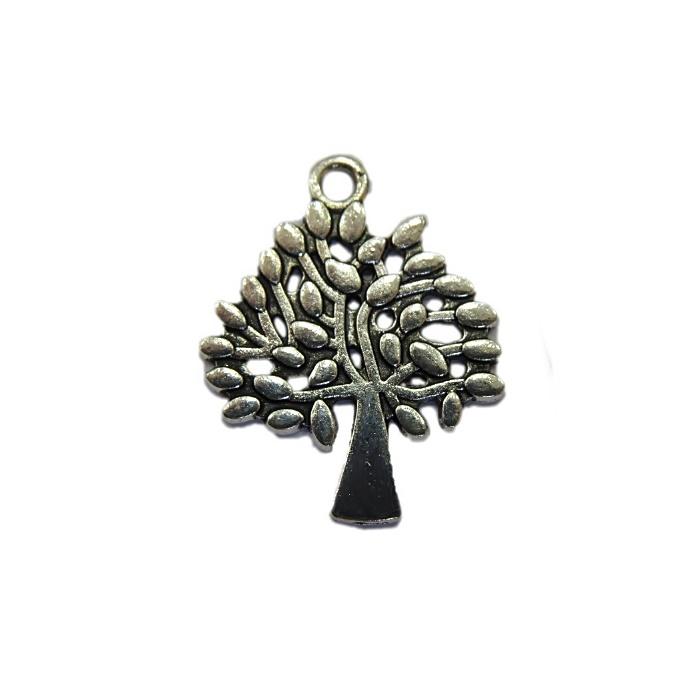Pingente Árvore níquel envelhecido- PTN039
