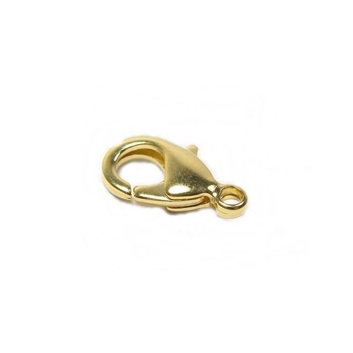 Fecho Lagosta Dourado Nº 03-latao- (10 unid.)-  FLD003