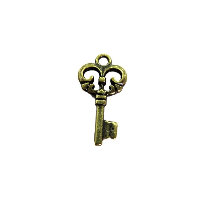 Pingente Chave ouro velho I (10 unidades)- PTO057