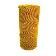 Cordão encerado fino ouro  (3318) 10mts- CDF024