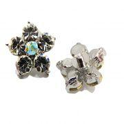 Piercing Flor I níquel (Par)- PIN009