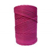 Cordão encerado grosso pink (7725)- CDG025 ATACADO