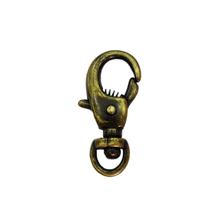 Mosquetão ouro velho IV (2 unidades)- MO004
