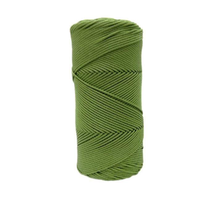 Cordão encerado fino verde alface (5956) 10mts- CDF004