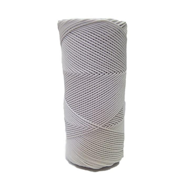 Cordão encerado fino branco (0001)- CDF029 ATACADO