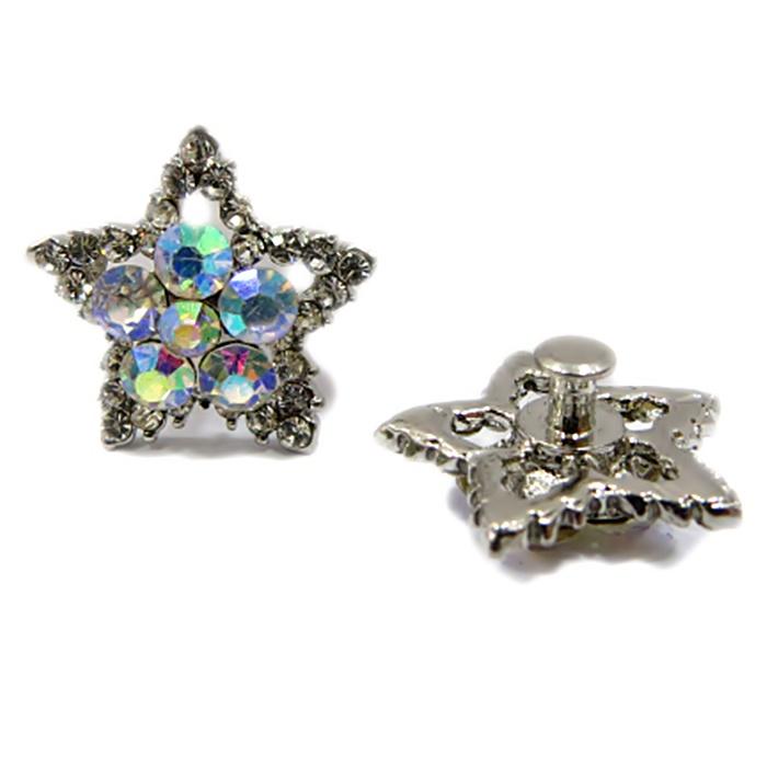 Piercing Estrela Níquel Boreal (Par)- PIN002