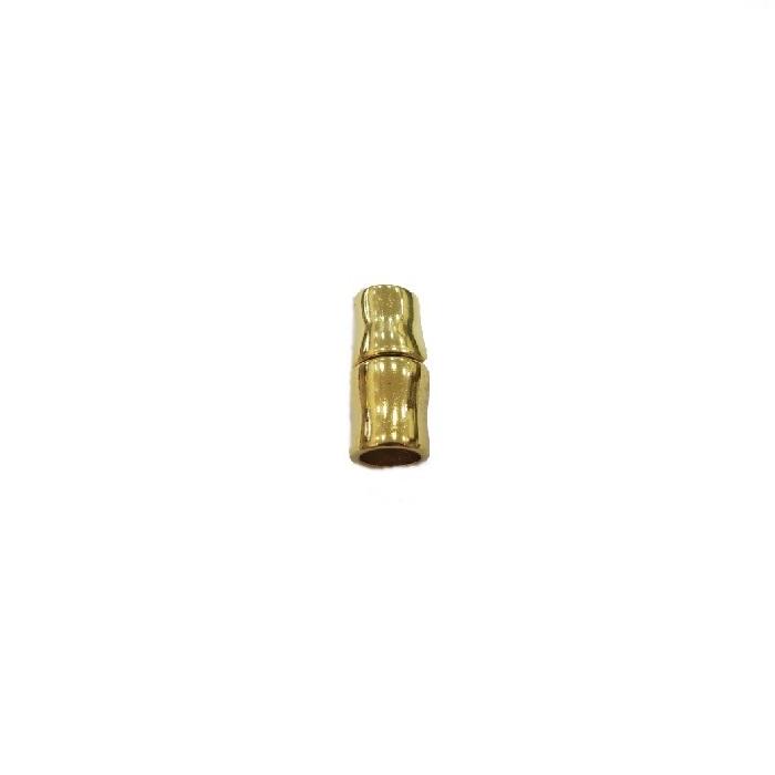 Fecho de Ima dourado tubo II (01 unid.)- FID016