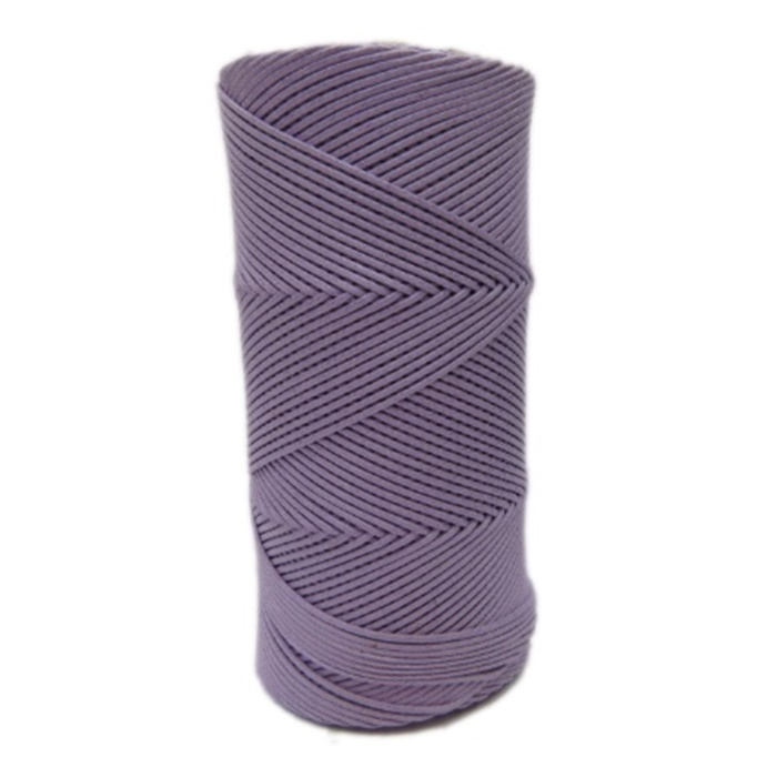 Cordão encerado fino lilas (6860) 10mts- CDF039