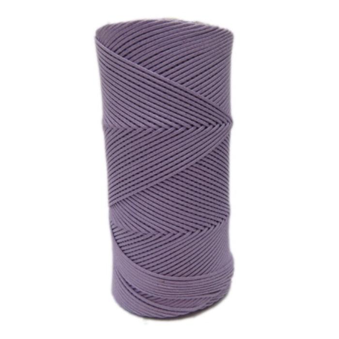 Cordão encerado fino lilas (6860)- CDF039 ATACADO
