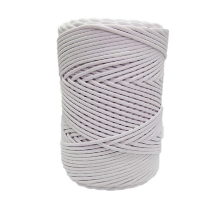 Cordão encerado grosso branco (0001)- CDG006 ATACADO