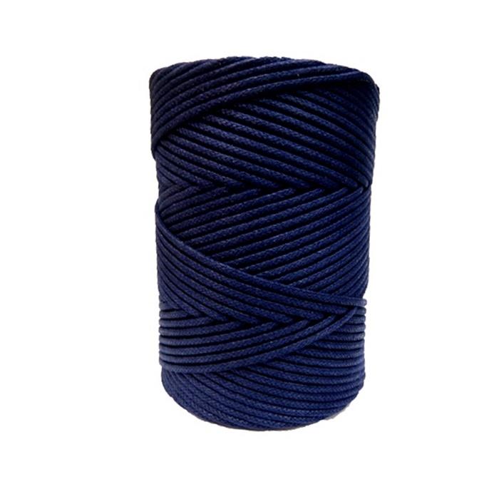 Cordão encerado grosso marinho (4667) 10mts- CDG017