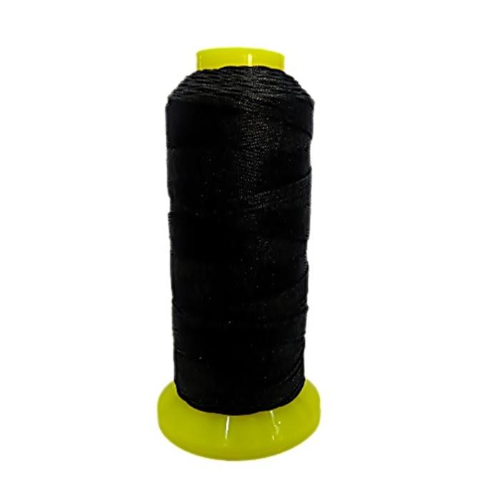 Cordão de seda fino preto (10mts)- FS002