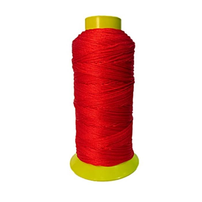 Cordão de seda fino vermelho- FS017 ATACADO