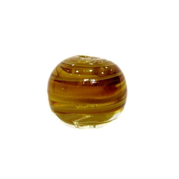 Bola de murano GG ambar- MU007