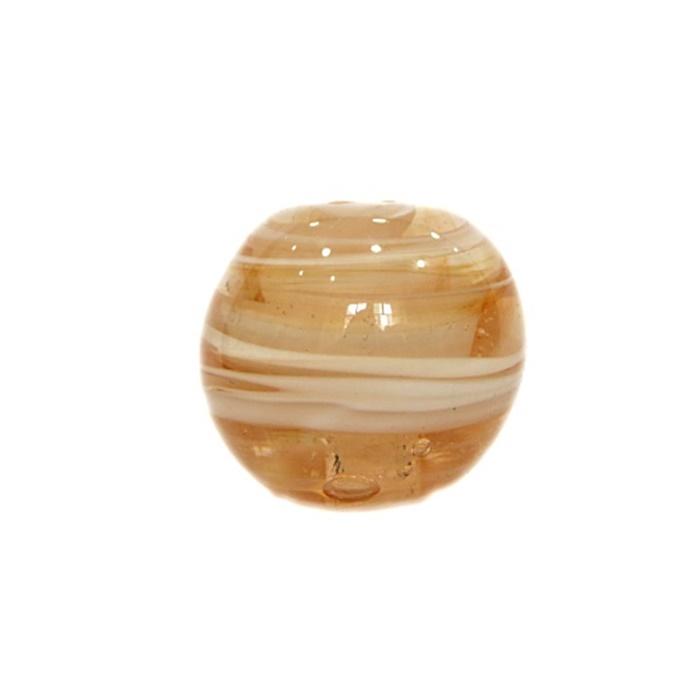 Bola de murano GG salmão- MU022