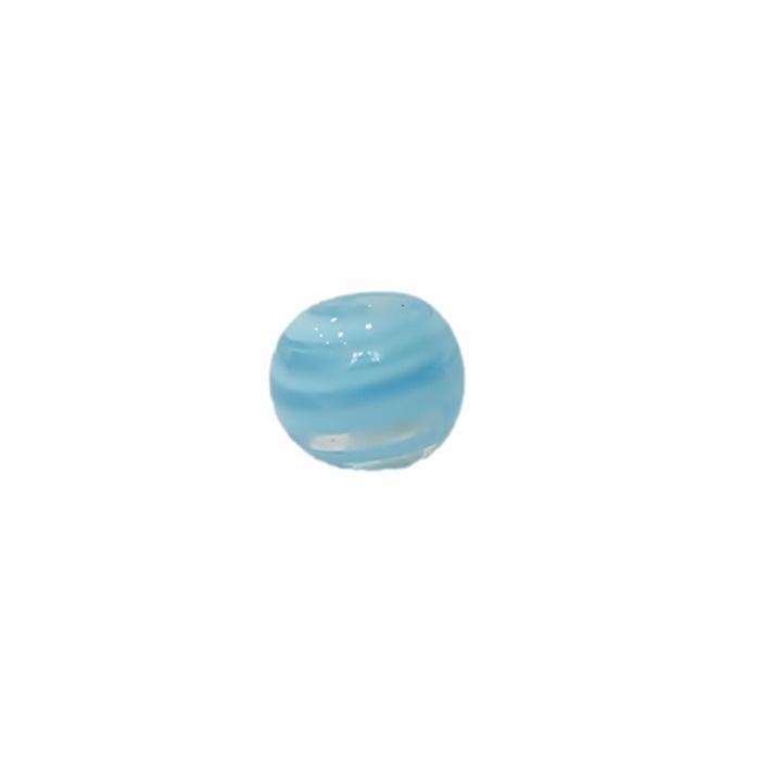 Bola de murano P  azul bebe (10 unidades)- MU109