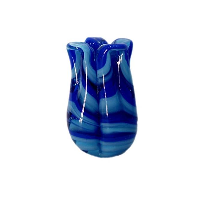 Tulipa de murano royal/ turquesa- MU159