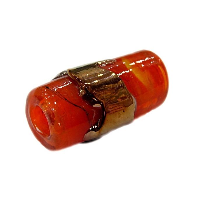Firma de murano GG cobre\ laranja- FM182