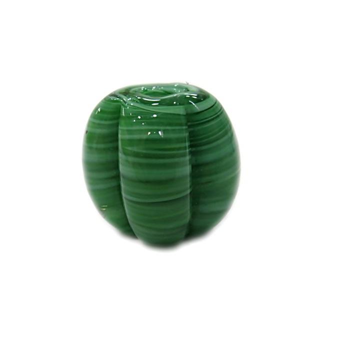 Pitanga de murano GG verde- MU389