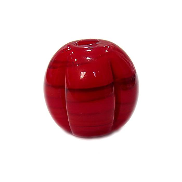 Pitanga de murano GG vermelho leitoso- MU392