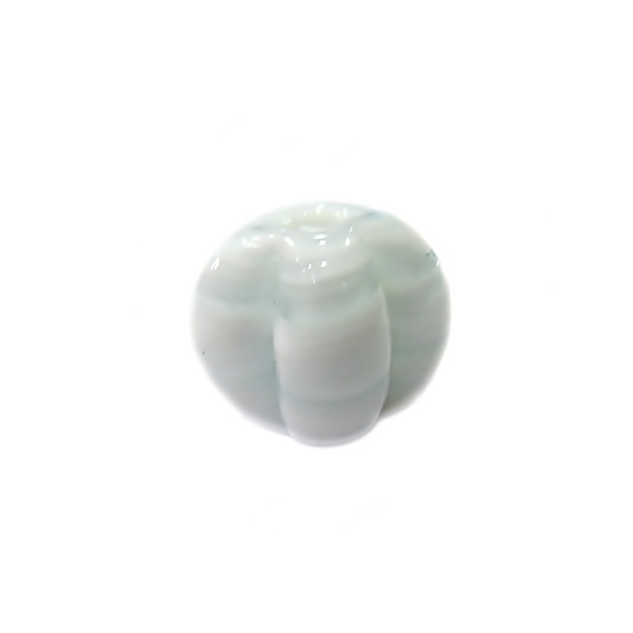 Pitanga de murano M branca leitosa- MU444