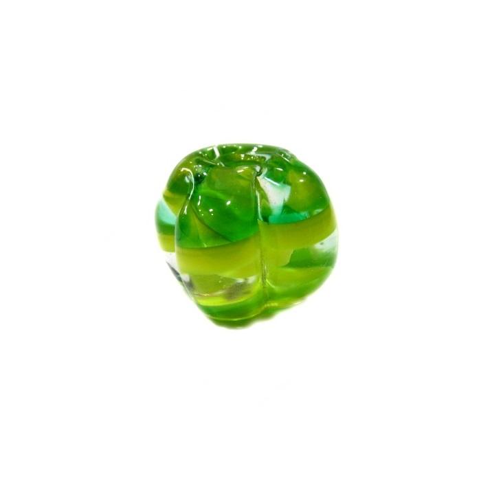 Pitanga de murano M verde/ amarelo- MU458